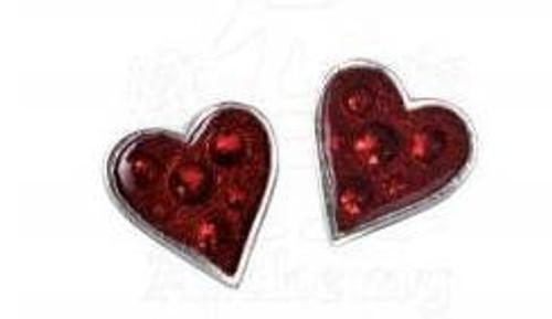 Alchemy of England Hearts Blood Earrings