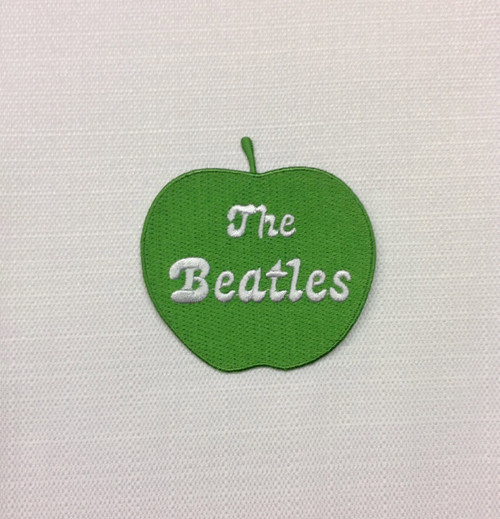 Beatles Green Apple Iron On Patch