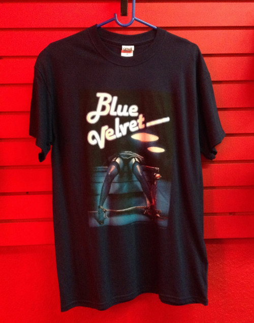 Blue Velvet Pool Table T-Shirt