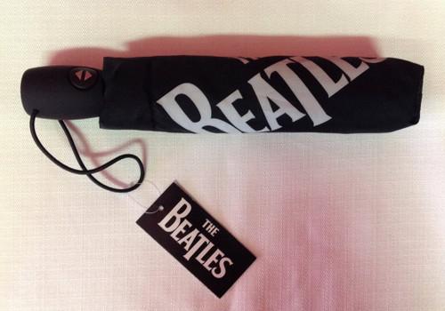 Beatles Logo Travel Umbrella