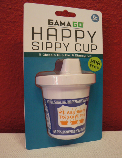 Classic New York City Diner Coffee Baby Sippy Cup
