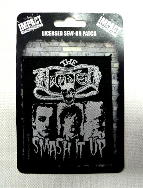 The Damned Smash It Up Punk Rock Sew On Patch