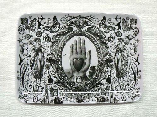 Gothic Victorian Heart Tray