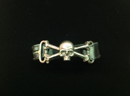 Alchemy of England Skull and Crossbones Bracelet