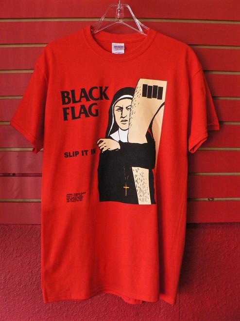 Black Flag Slip It In Album Cover T-Shirt