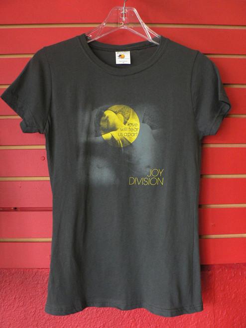 Joy Division Love Will Tear Us Apart Ladies Womens Babydoll Cut T-Shirt in Dark Grey