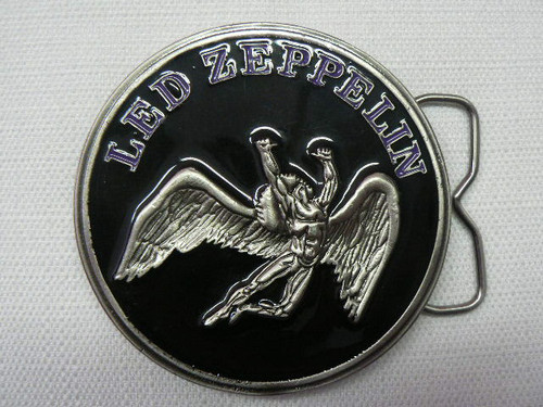Led Zeppelin Swan Song Logo Belt Buckle