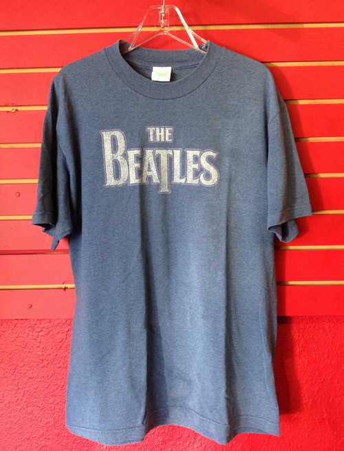 Beatles - Logo - Recent Vintage T-Shirt - Size Large
