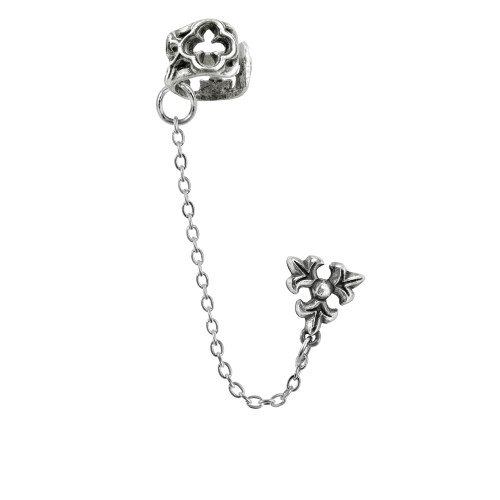 Alchemy of England Parler Earcuff with Stud Earring
