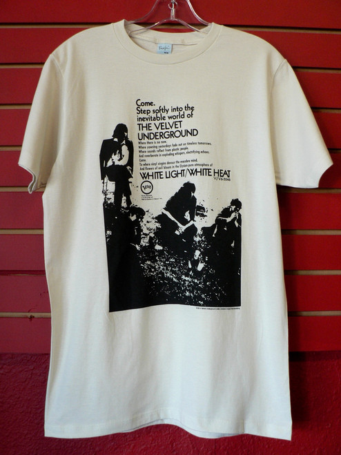 Velvet Underground Come Step Softly Verve Records T-Shirt