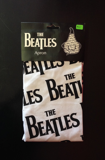 Beatles Apron in White and Black
