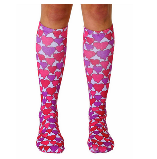 Living Royal Melting Hearts Knee Socks