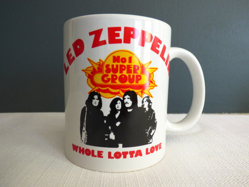 Led Zeppelin Whole Lotta Love Mug / Cup