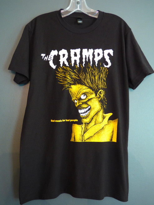 The Cramps - Bad Music for Bad People T-Shirt