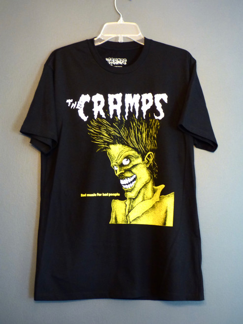 The Cramps - Bad Music for Bad People Album T-Shirt