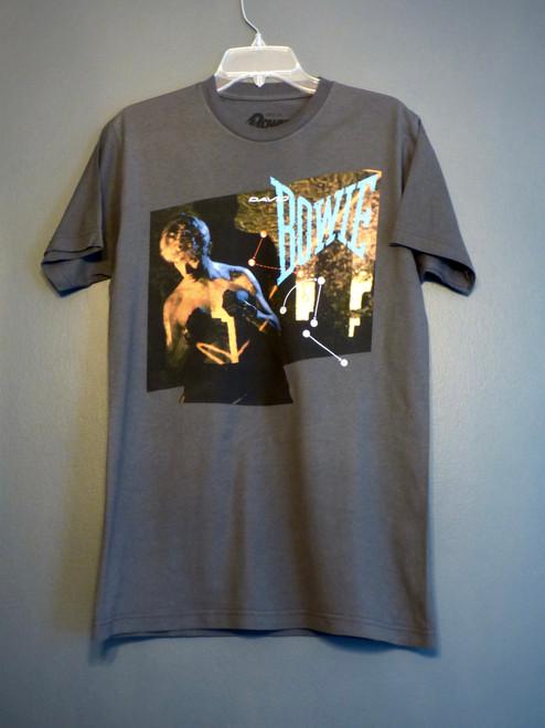 David Bowie - Let's Dance Album T-Shirt in Dark Grey
