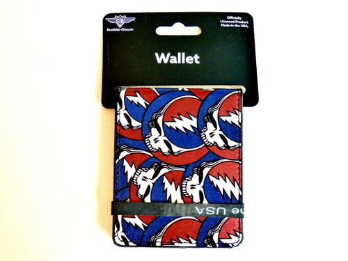 Grateful Dead Steal Your Face Bi-fold Vegan Leather Wallet