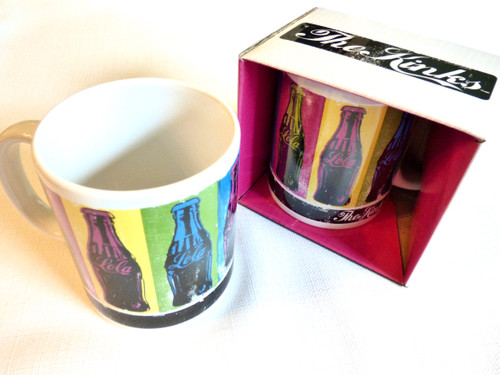 The Kinks Lola Warhol Style Coca Cola Bottle Print Mug / Cup