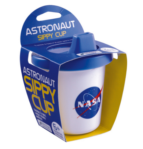NASA Astronaut Baby Sippy Cup