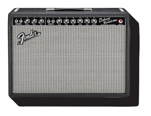 Fender Deluxe Amp Funky Chunky Fridge Refrigerator Magnet