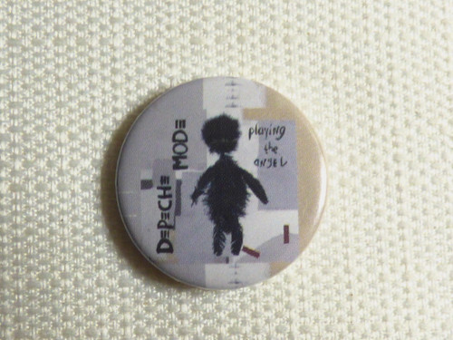 Depeche Mode - Playing the Angel Album (2005) Pin / Button / Badge