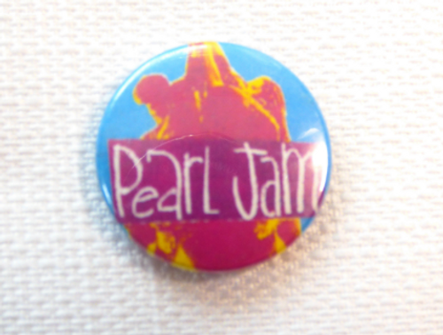 Vintage 90s Pearl Jam - Ten Album (1991) - Pin / Button / Badge