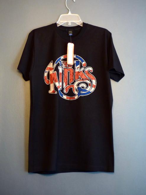 The Kinks - Union Jack Logo T-Shirt