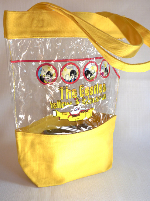 Beatles - Yellow Submarine - Small Beach Tote Bag