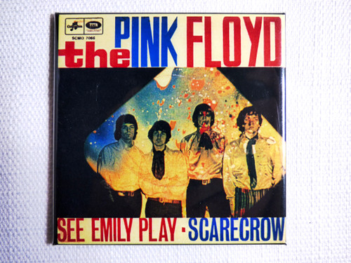 See Emily Play Single Vinyl Magnet