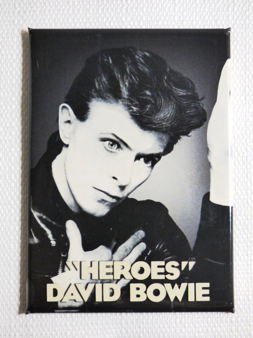 David Bowie - Heroes Album Magnet
