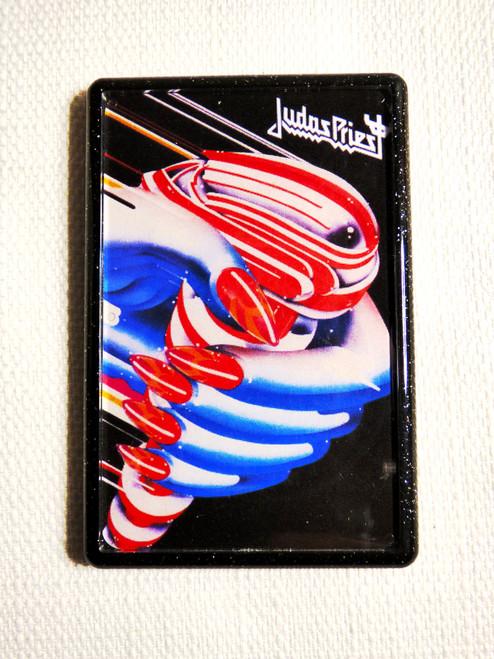 Judas Priest Turbo Album Fridge Magnet