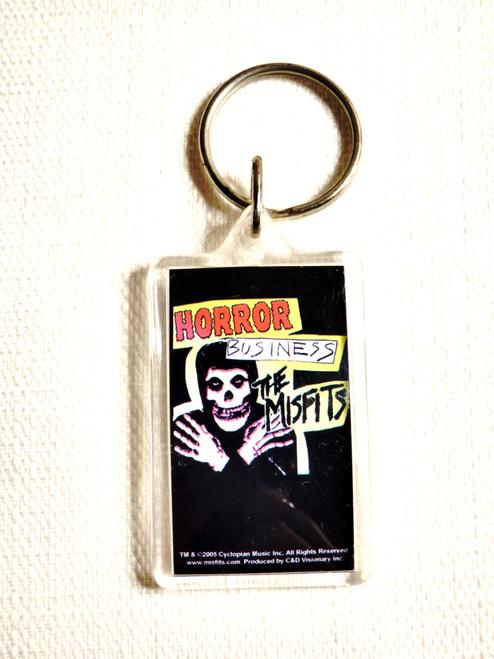 The Misfits Horror Business Single Keychain