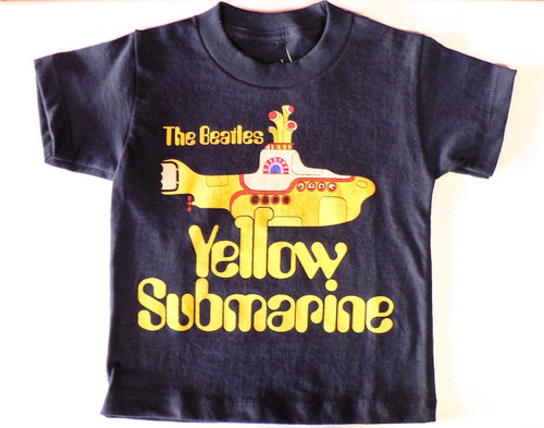 Beatles Yellow Submarine Toddler T-Shirt