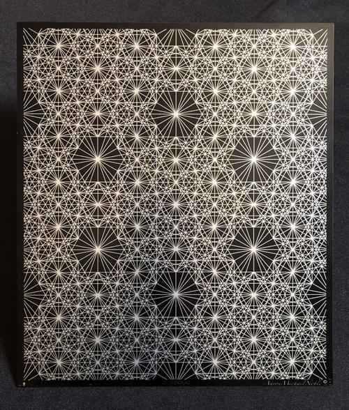 Metal Artwork: 10x11.5