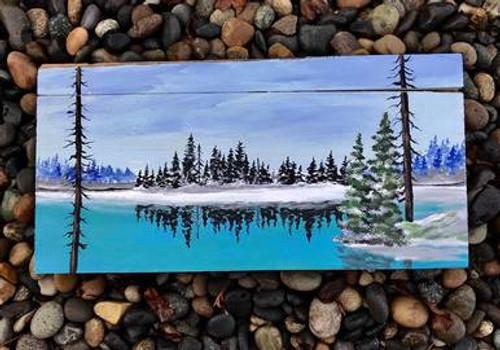 Winter Woods: 10x20