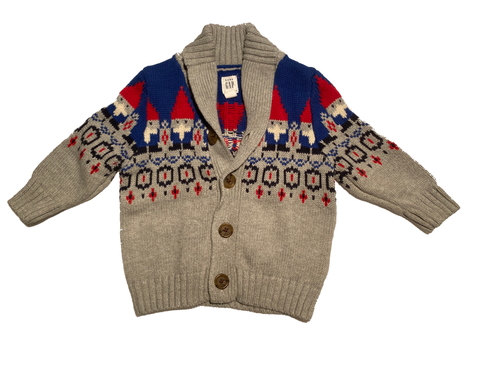 06-12M BabyGap Gnome Sweater