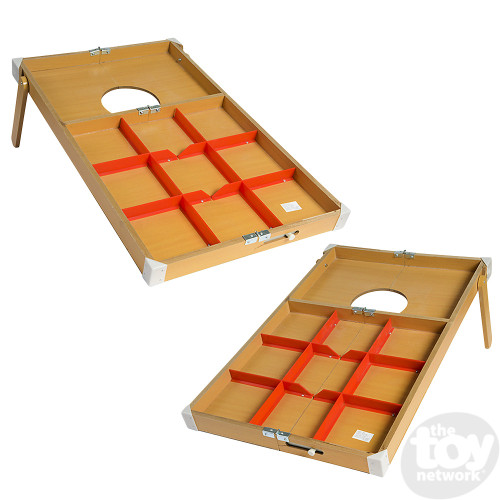 Two-in-One Double Wooden Toss Game (12+)