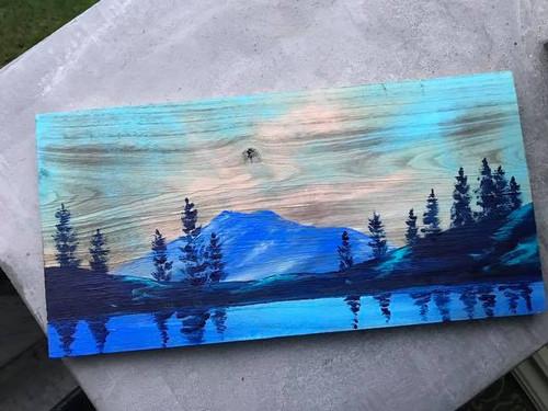 Mt Hood: 10x20