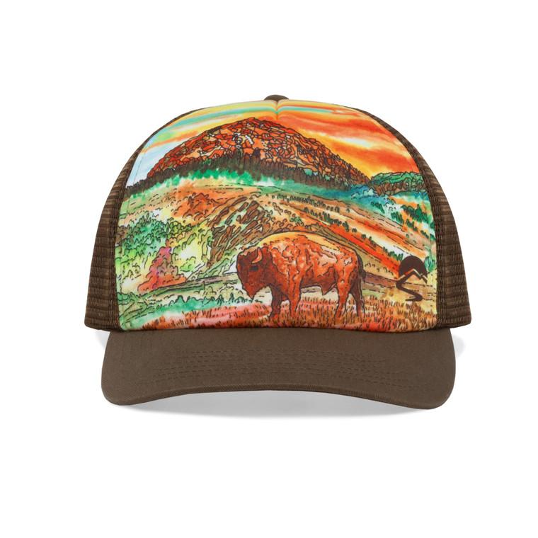 Bison Sunset Trucker O/S
