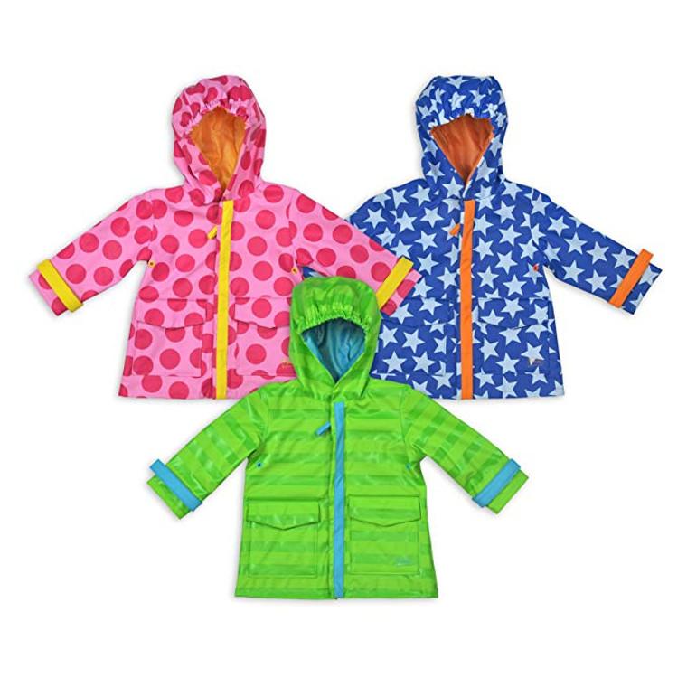 i Play Baby Raincoats (6-12M BLU/18-24M PINK)