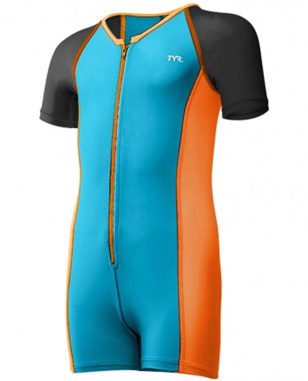 Neoprene Wetsuit Blu/Orange (2T, 5T)