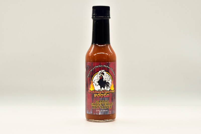 Scoville Units (SHU) 8,000 - 1,001,300 Very Hot  CAUTION: VERY HOT! Mother Clucker! The Ghost Pepper is the super-hot pepper that started it all. Some still think the Ghost Pepper is still the world's hottest, but it is far from it. The Ghost Chile has a naturally smoky flavor and a slow, enjoyable but long-lasting burn. If you're a fire eater who loves garlic, this is your everyday sauce!