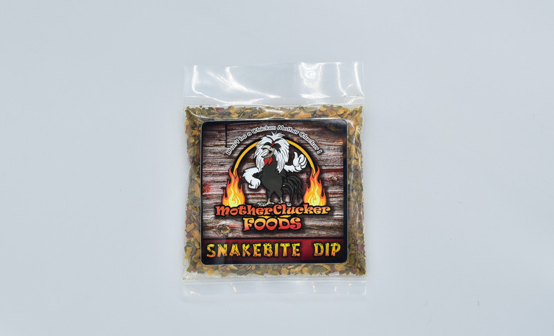 Scoville Heat Units (SHU) 800,00 - 1,001,300 Very Hot  Our Snake Bite Dip is awesome, if you Really Love Spicy, then you are sure to enjoy this flavorful dip. This is great for any party, get together and even for all holidays. Made with Ghost peppers, you can choose to tell people it's Hot or Not depending on who you're serving it too. Serve it with chips, crackers, veggies, use as a spread or use it as a seasoning.  makes 16-24oz  MSG & Gluten Free.