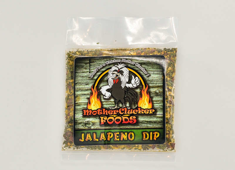 Scoville Heat Units (SHU) 2,500 - 8,000 Mild  This is one of our Top Sellers.One bite and you're taste buds are hooked.Our Jalapeno Ranch Dip is crazy good. Natural Ranch Flavor with a Jalapeno kick.  Serve it with chips, crackers, veggies, use it as a spread or use it as a seasoning.     Makes 16-24oz  MSG & Gluten Free