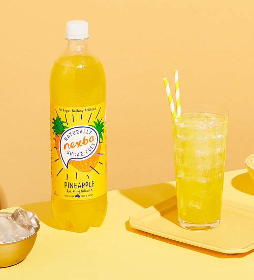 Nexba Pineapple Soft Drink 1L Lifestyle