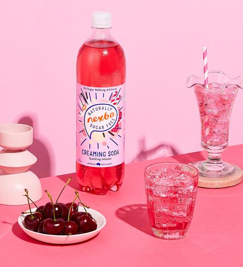Nexba Creaming Soda Soft Drink 1L Lifestyle