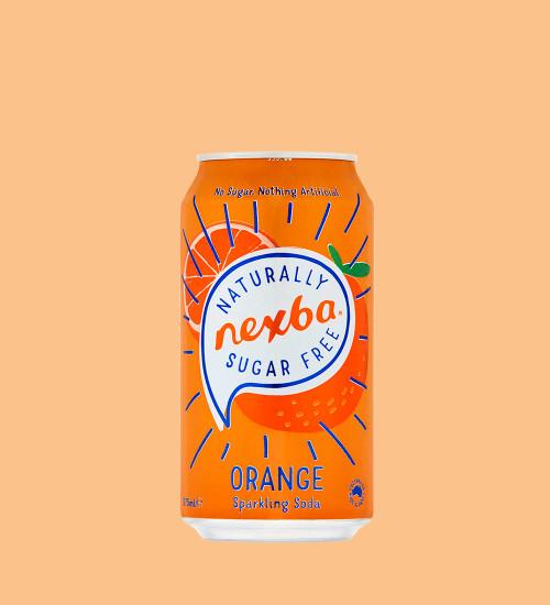 Orange Soft Drink