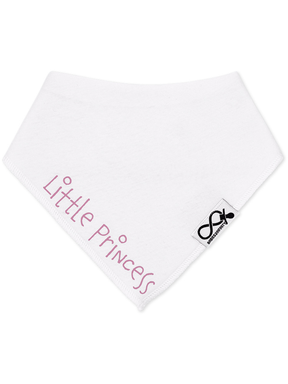 Great baby gift. Personalised Little Prince// Little Princess Bib