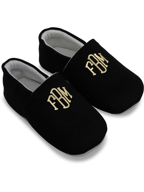 Personalised Monogram Baby Shoes