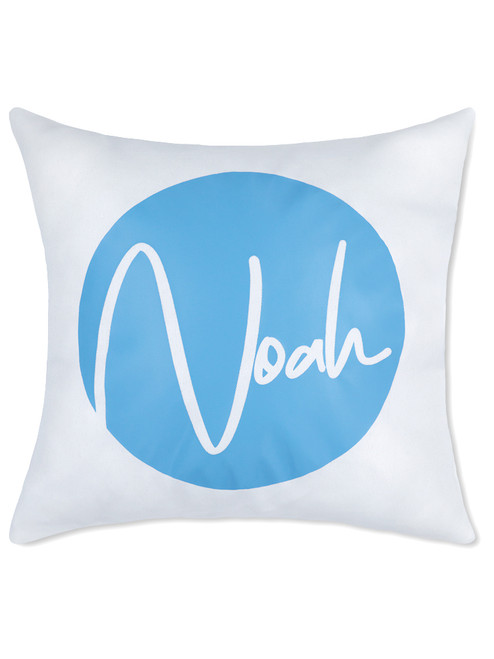 Canvas Cushion with Standard Sky Blue print